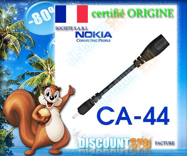adaptateur chargeur origine ca44 nokia c2 01 c3 et c5 ebay. Black Bedroom Furniture Sets. Home Design Ideas