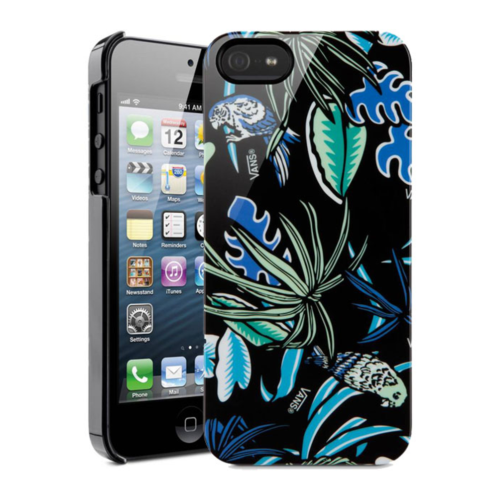 Détails sur COQUE BELKIN RIGIDE VANS COLLAGE TROPICAL POUR IPHONE 5 5S SE